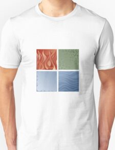 4 elements symbol - fire water air earth Unisex T-Shirt