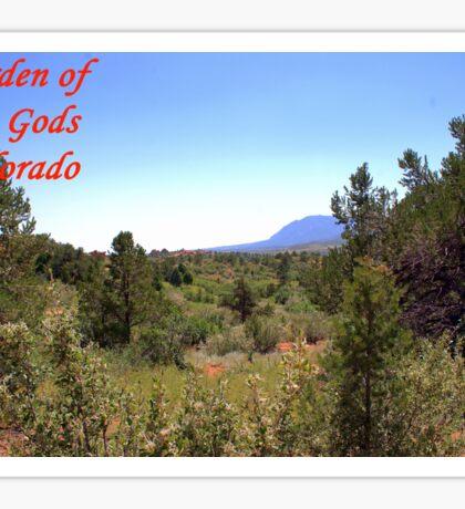 Garden of the Gods #15 Sticker