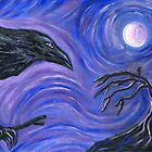 The Raven by Roz Abellera Art