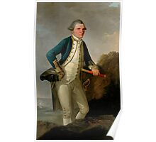 Captain James Cook Portrait Poster