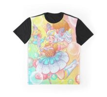 Ice Cream Magical Girl Graphic T-Shirt