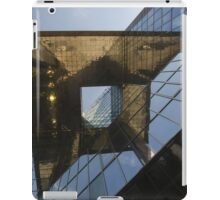 Abstract of modern high-rise building iPad Case/Skin