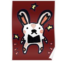 Bunny Mouse Poster