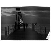 The Elegance of Frankston Pier at Dusk Poster