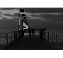 The Elegance of Frankston Pier at Dusk Photographic Print