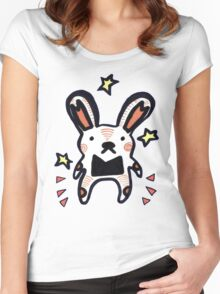 Bunny Mouse Women's Fitted Scoop T-Shirt