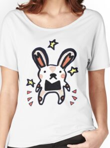 Bunny Mouse Women's Relaxed Fit T-Shirt