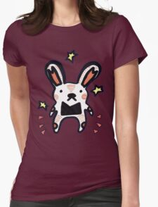 Bunny Mouse Womens Fitted T-Shirt