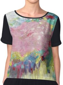 Mk abstract 3 Chiffon Top