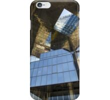 Abstract of modern high-rise building iPhone Case/Skin