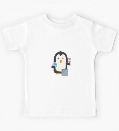 Penguin with egg   Kids Tee