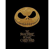 Nightmare before christmas Photographic Print