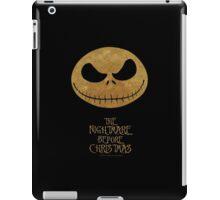 Nightmare before christmas iPad Case/Skin