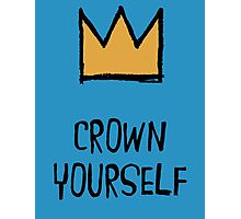 Crown Yourself Photographic Print