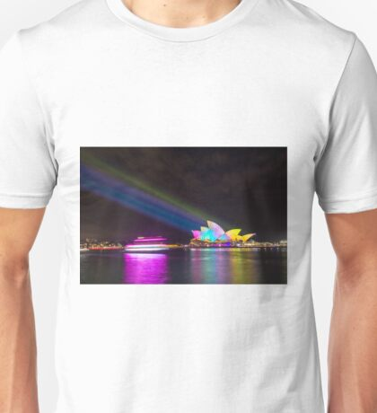 Sydney Opera House, 2014 Vivid Festival Unisex T-Shirt