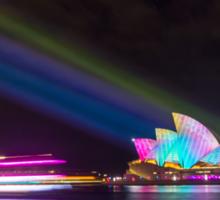 Sydney Opera House, 2014 Vivid Festival Sticker