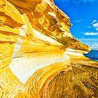Paint Cliffs by Mark Bilham