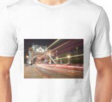 Tower Bridge at night, London Unisex T-Shirt