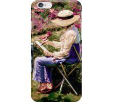 La Peintre iPhone Case/Skin