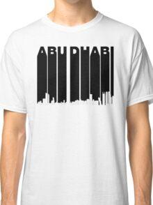 Retro Abu Dhabi Skyline Classic T-Shirt