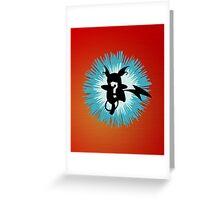 Who's that Pokemon - Raichu Greeting Card