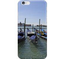 Gondolas at Saint Mark's Square, Venice iPhone Case/Skin