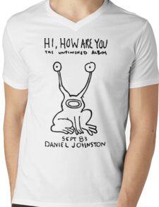 Croac Daniel Johnston Mens V-Neck T-Shirt