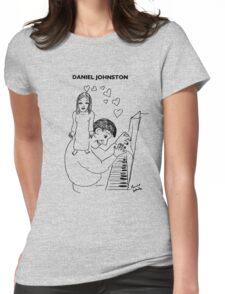 Daniel Johnston Womens Fitted T-Shirt