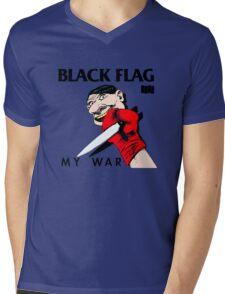 My War Mens V-Neck T-Shirt