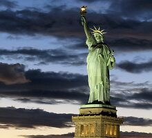 The Statue of Liberty by Jamie Greene