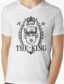 IT´S GOOD TO BE THE KING - HISTORY OF THE WORLD Mens V-Neck T-Shirt