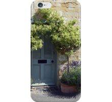 Typical Cotswolds house facade, UK iPhone Case/Skin
