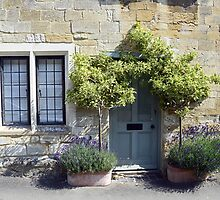 Typical Cotswolds house facade, UK by avresa