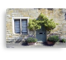 Typical Cotswolds house facade, UK Canvas Print