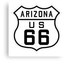 ROUTE US 66 - ARIZONA/USA Canvas Print