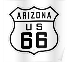 ROUTE US 66 - ARIZONA/USA Poster