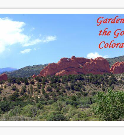 Garden of the Gods #16 Sticker