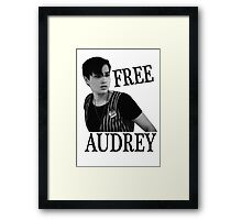 Scream - Free Audrey Framed Print