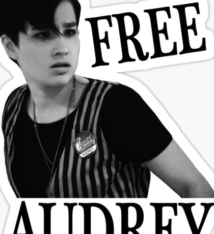 Scream - Free Audrey Sticker