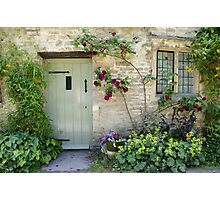 Typical Cotswolds house facade, UK Photographic Print