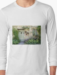 Typical Cotswolds house facade, UK Long Sleeve T-Shirt