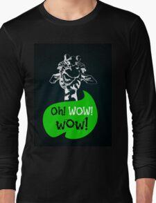 head of creative giraffe hipster Long Sleeve T-Shirt