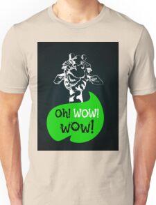 head of creative giraffe hipster Unisex T-Shirt