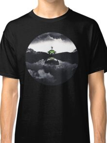 Landing on Zebes A Metroid Surrealism Classic T-Shirt