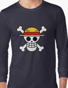 Pirates Logo Long Sleeve T-Shirt