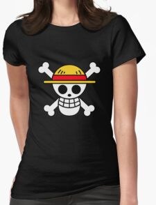 Pirates Logo Womens Fitted T-Shirt