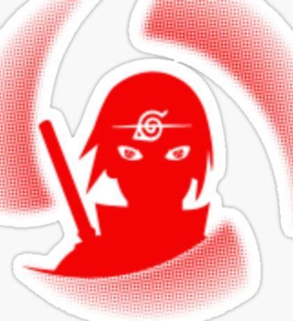 manga itachi Sticker