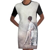 Stay Graphic T-Shirt Dress