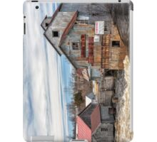 The Old Mill and the raging river iPad Case/Skin
