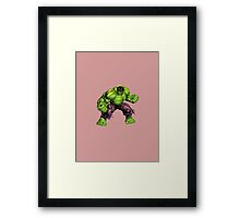 The Hulk Framed Print